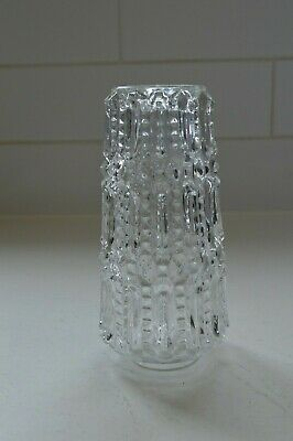 Vintage Pressed Glass Light Fixture Shades/ Set Of Two