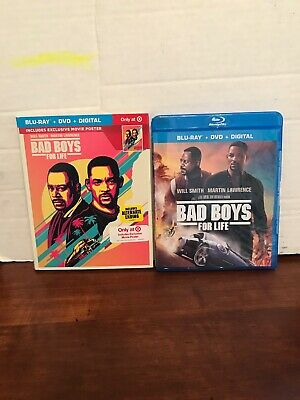 Bad Boys For Life Blu-ray, DVD,Digital,Movie Poster From Target