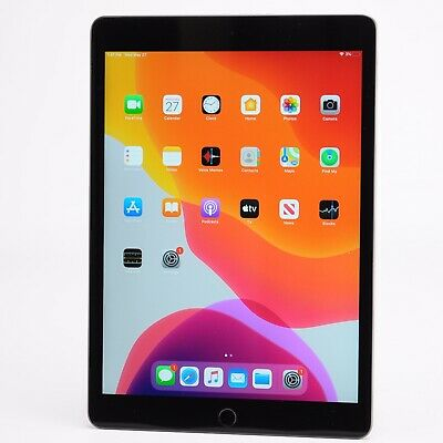 "Apple iPad 7th Gen 10.2"" - 32GB - WiFi Only - MW742LL/A - Tested Working - D790"