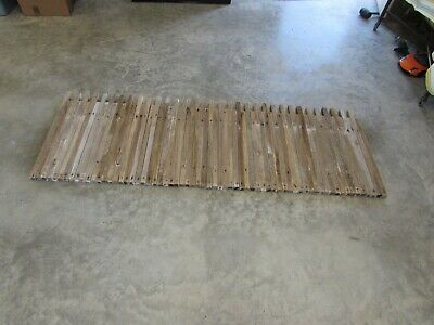 66  Antique Fence Pickets Old Weathered  Decorative 120 Years Old  Craft
