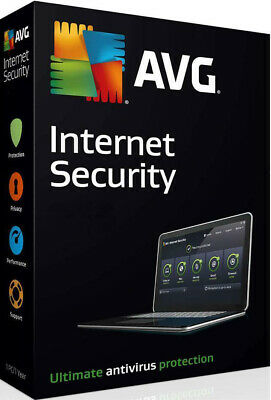 AVG Internet Security 2020 - 10PC - 2 Years | Genuine Official Software Discount