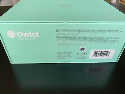 Owlet Smart Sock 2 Baby Monitor - Nearly New Condition