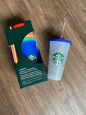 Starbucks Color Changing Cold Cups SET AND Confetti Cup 2020 NEW