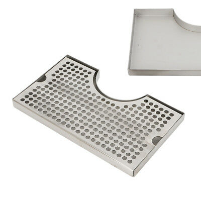 Stainless Steel 304 Polished Removable Kegerator Tap Draft Beer Drip Tray SALE!!