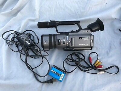 Sony DCR-VX2100 Camcorder with And Case