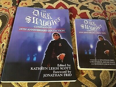 The Dark Shadows Companion 25th Anniversary Collection Book & 2 Cassettes Sealed