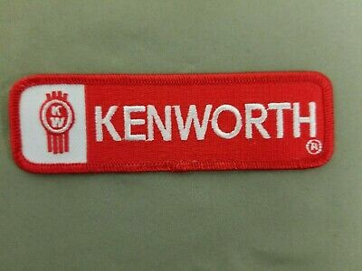 Kenworth Embroidered Iron On Patch
