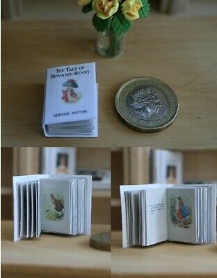 Dolls House Book - Benjamin Bunny - Readable - Full Story - Childrens book