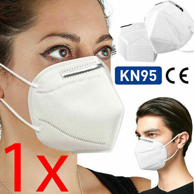 FFP2 KN95 Face Mask Hygienic Cover Virus Protection Medical Surgical N95 UK