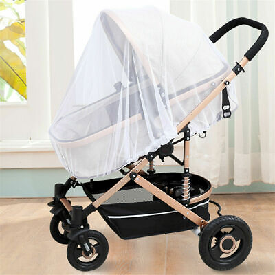 Stroller Pushchair Pram Mosquito Fly Insect Net Mesh Buggy Cover for Baby BR