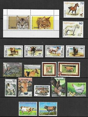 Domestic animals , fine page , MINT NH