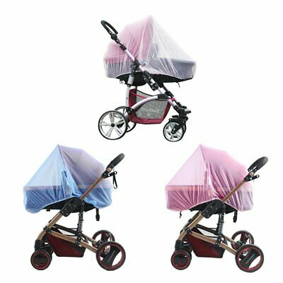 Mosquito Fly Insect Net Mesh Buggy Cover Baby Stroller Pushchair Pram Cover BR