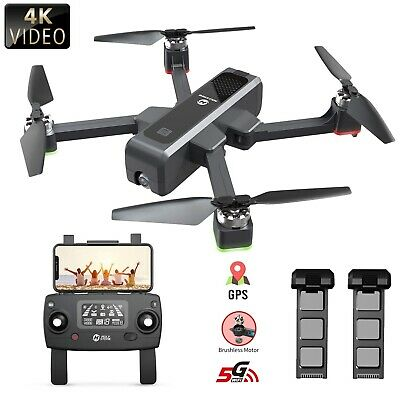 Holy Stone HS550 Brushless GPS drone 4K UHD Camera 5G FPV quadcopter 2 batteries