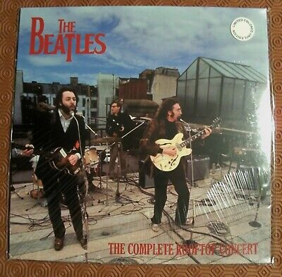 """Beatles """"The Complete Rooftop Concert"""" Coloured Lp Of Historical Show Apple 1969"""