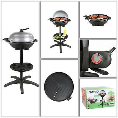 LUXE 2IN1 GRILL Table Barbecue BBQ Électrique Aluminium