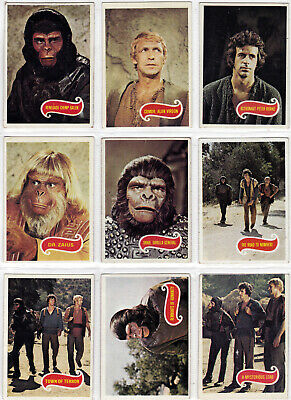 Planet Of The Apes Movie Complete 44 Trading Card Set Made By Topps In 1967