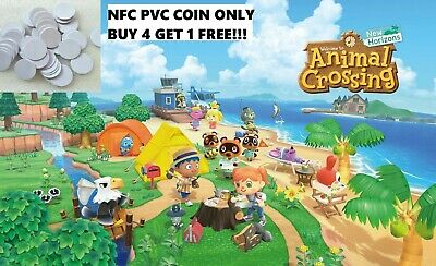 ANY Animal Crossing AMIIBO Villagers! YOU PICK! NFC PVC Coin Only- NON CUSTOM