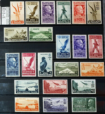 Italy Regno 1938 Africa Orientale Italiana Aoi - 22  Stamps New*