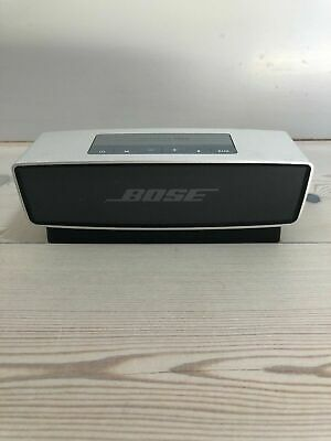 Bose SoundLink Mini Portable Bluetooth Speaker + Charging Cradle - Silver