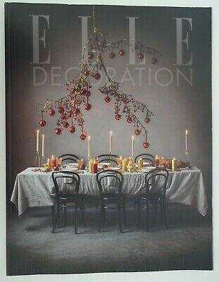 ELLE DECORATION JANUARY 2020 (ISSUE No.329)     *NEW, UNREAD*