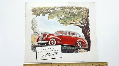 """1941 PACKARD """"110 Deluxe"""" - Original Color Catalog - Very Good Condition - (US)"""