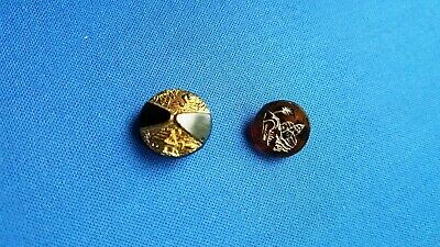 Vintage Decorative Iridescent Glass and Plastic Buttons