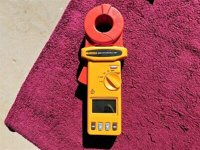Fluke 1630 High Performance Earth Ground Clamp Meter!  Costs $1799.99 New!