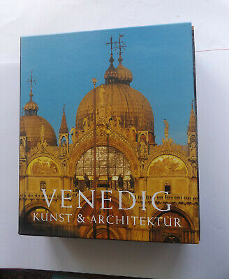 Art & Architecture Venice - 2 Volumes With Pictures Of Venice Italy  In German