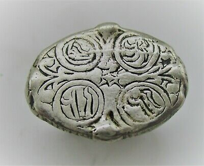 Detector Finds Ancient Viking Silver Ring With Runic Engravings