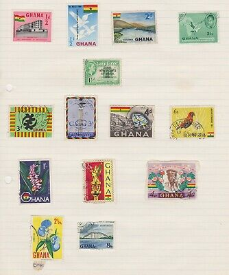 Selection Of Stamps From Hana