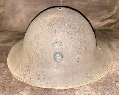 WWI 7th (City Of London) Battalion, London Regiment British Brodie Helmet