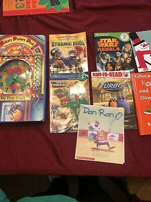 Childrens Bedtime Books - LOT OF 8- Story time Sets - Paperback Hardcover