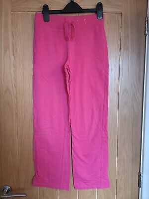 Girl's George Bright Pink Jogging Bottoms, Size 11-12 Yrs