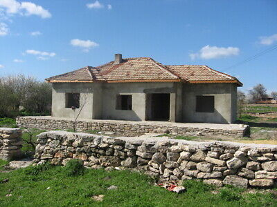 Bulgaria Bulgarian UNFINISHED Project 3 Bedroom house 16 Km to Sea