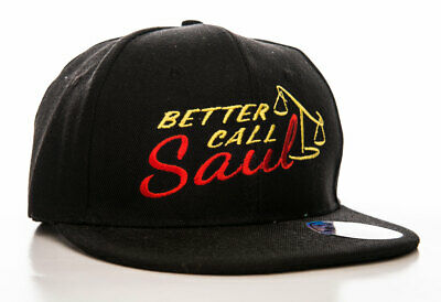 Officially Licensed Better Call Saul Logo Adjustable Size Snapback Cap