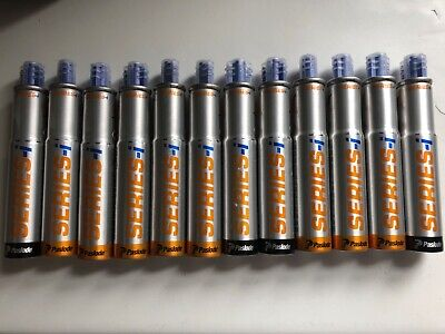 12 x Paslode i Series Gas Canisters Fuel Cell IM360/PPN35/IM90 Dated 2021 Lot 1