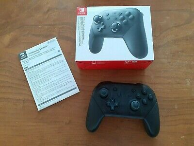 Nintendo Switch Pro Controller - Wireless - Black (Standard Edition). USED
