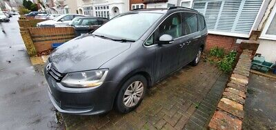 VW Sharan 2.0 TDi blue motion, 7 seater, 6 speed, moted