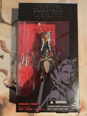 AHSOKA TANO - Star Wars The Black Series 6 Inch Rebels Clone Wars Hasbro