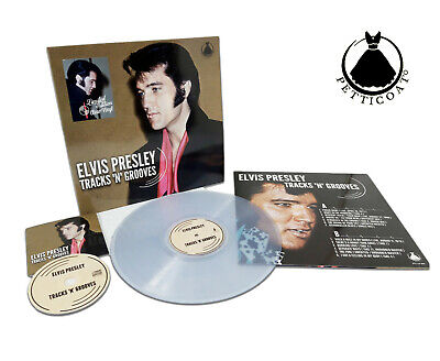 Elvis Collectors LP -  Tracks 'n' Grooves (Clear Edition)