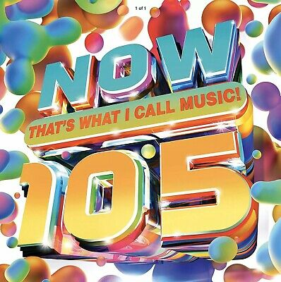 NOW THATS WHAT I CALL MUSIC!105 (Released May 8th) *100% Rated Seller* Free Post