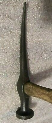 """Vintage Auto Body 8 1/2"""" Long Pick Hammer Shop Dolly Tool"""