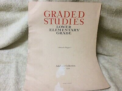 Sheet Music For Piano - Graded Studies Lower Elementary By Orlando Morgan