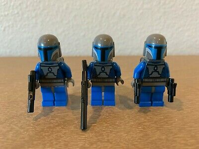 3 MANDALORIAN Troopers from Authentic LEGO Star Wars Clone Battle Pack 7914