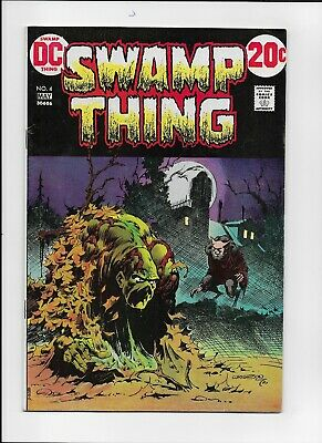 Swamp Thing 4 Fine to Fine +