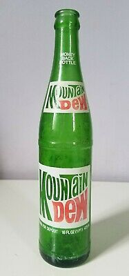 Vintage Mountain Dew Bottle