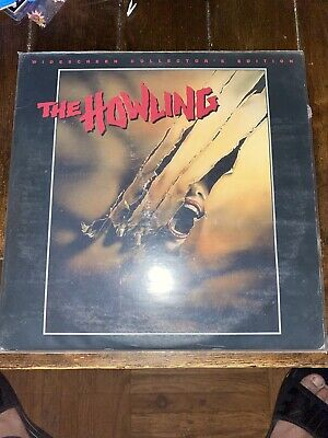 The Howling Rare Collector's Edition Laserdisc