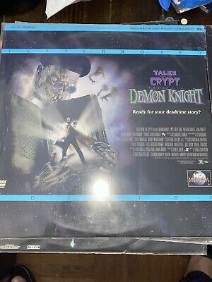 Tales From The Crypt - Demon Knight Letterbox Laserdisc - RARE HORROR
