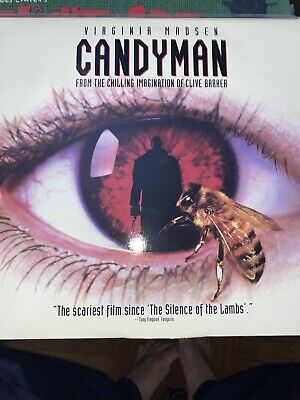 Candyman & Candyman - Farewell To The Flesh Widescreen Laserdisc - Horror