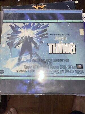 The Thing Laserdisc LD Excellent Condition